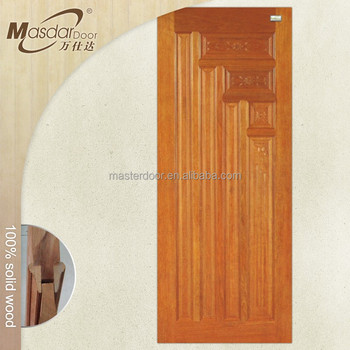Water resistant teak wood bathroom door designs catalogue for Wood door design catalogue