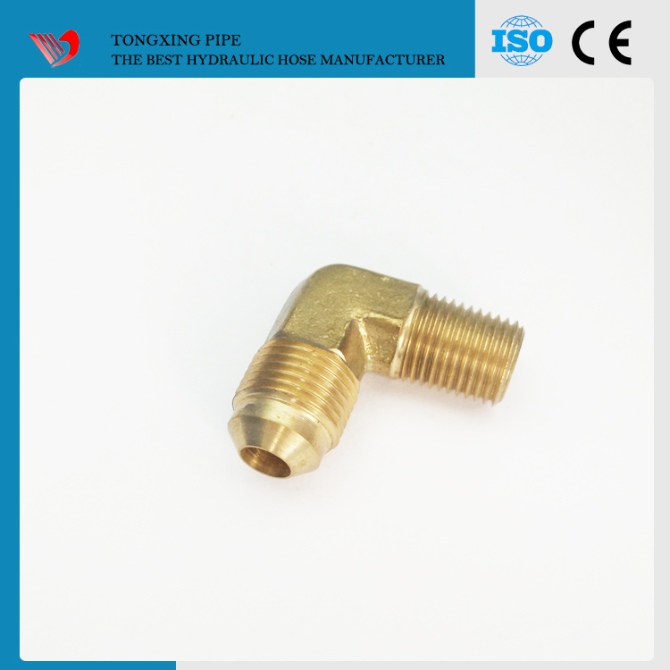 hydraulic crimping machine swaged flange fittings npt female bsp male adapter