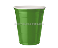 disposable PS plastic drinking 16oz double wall insulated party cup