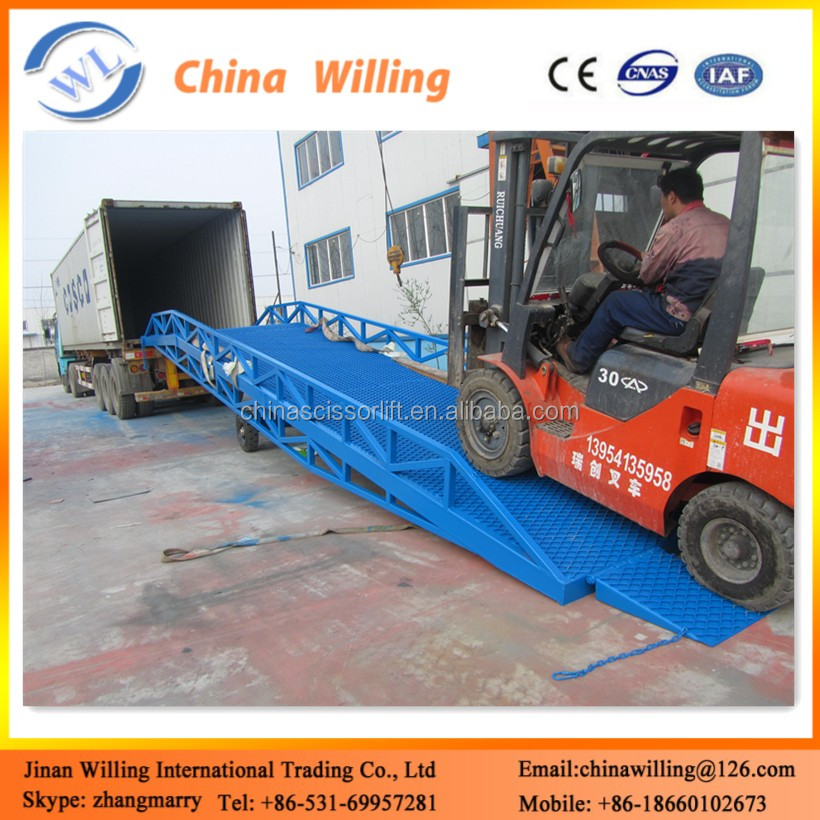 10 t CE Mobile Lift Drive Dock Ramp/Hydraulic Electric Tailgate Lift