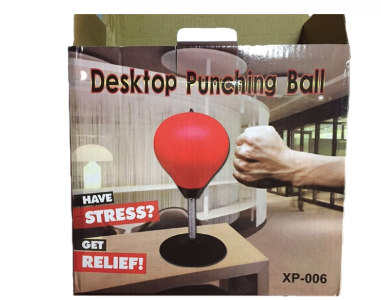 gym equipment desktop relax mini punching bag and desktop boxing speed ball