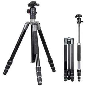 KIngjoy 20kg load and 1.6 meter high adjustable extendable video camera tripod A63