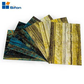 Interior Wall Covering Decoration Granite Stone Pattern Aluminum ...