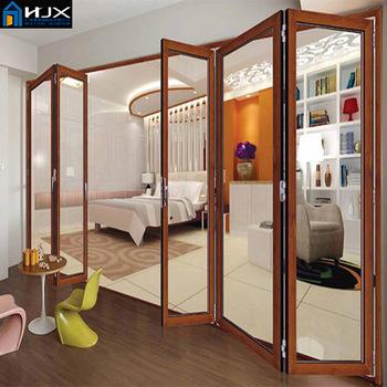 Interior Folding Doors Foldable Soundproof Glass Bifold Door Buy Glass Bifold Door Sliding