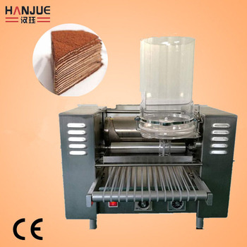 Electric Crepe Cake Machine Crepe Maker For Store