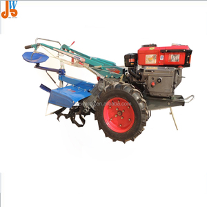 Small farm hand tractor/mini agricultural walking machine in China