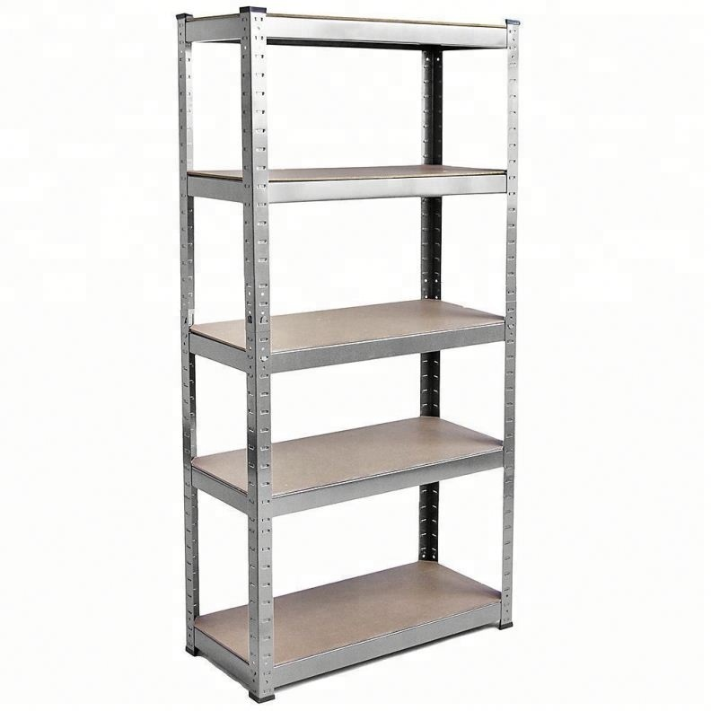Metal Racking 5 Tier Shelving Industrial Garage Warehouse Storage Boltless <strong>Shelf</strong>