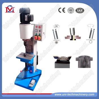 hydraulic brake shoe riveting machine