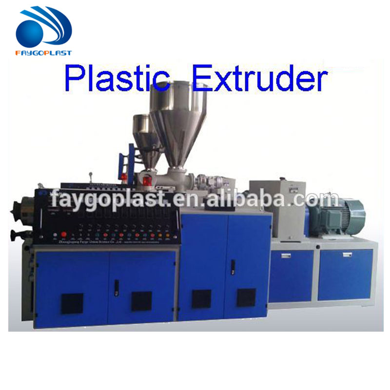 PVC Four Cavity Production Line double wall corrugated pipe extrusion line