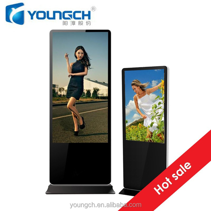 42 inch totem multimedia advertising screen player multimedia flat panel 16 9 4 3 reliable product totem
