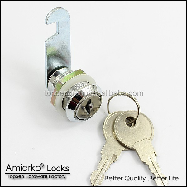 zinc alloy cam locks for mailbox and metal box