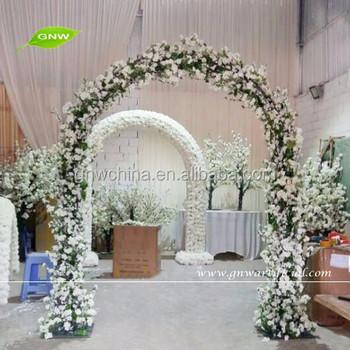 Gnw Flw1601002-01 Wedding Arch Flower Arch Design In Living Room - Buy  Flower Arch Design In Living Room,Decorated Flower Arch,Door Arch Designs
