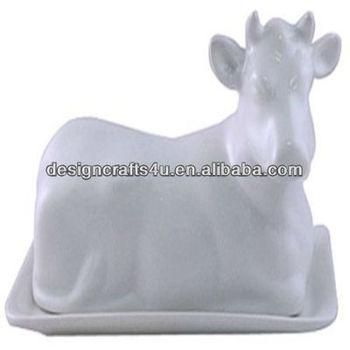 Ceramic Cow Butter Dish Animal Butter Dish Buy Animal