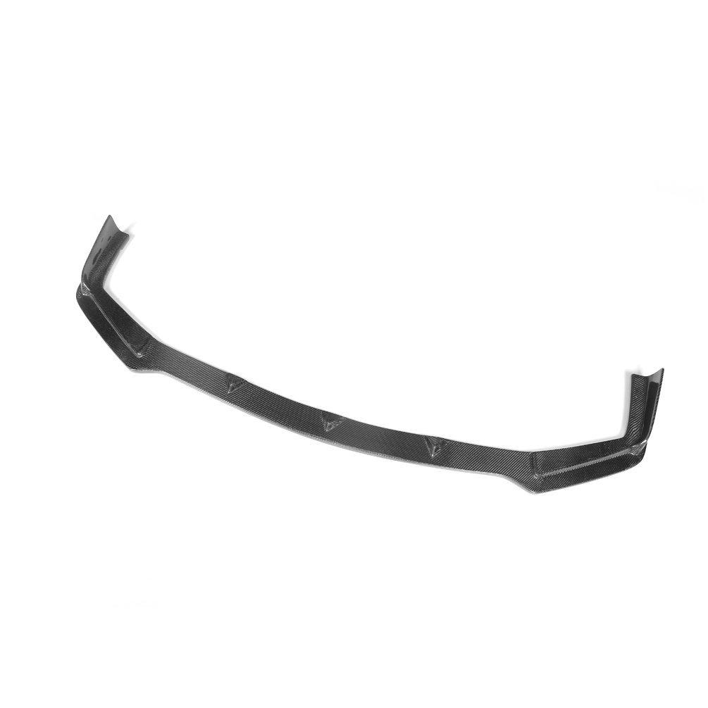 JCSPORTLINE Carbon Fiber Front Chin Spoiler fit for Infiniti Q50 2013-2015