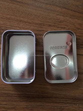 High quality mint tin, customized pocket size metal for mint candy