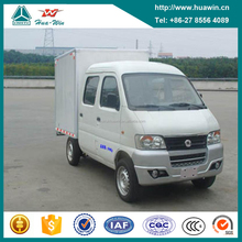 Cheap Price Dongfeng 4x2 Crew Cab Mini Box Van Cargo Truck