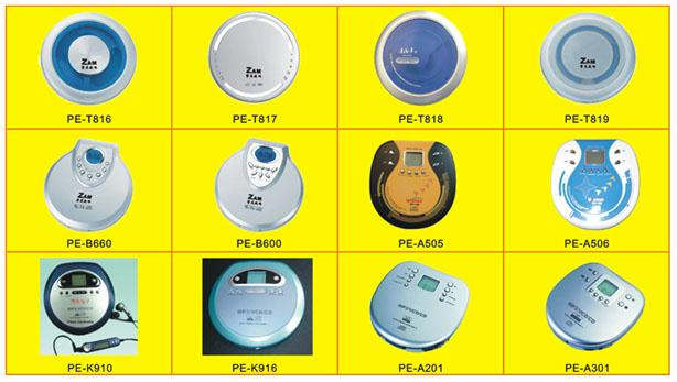 Portable CD/ VCD/ MP3 Player