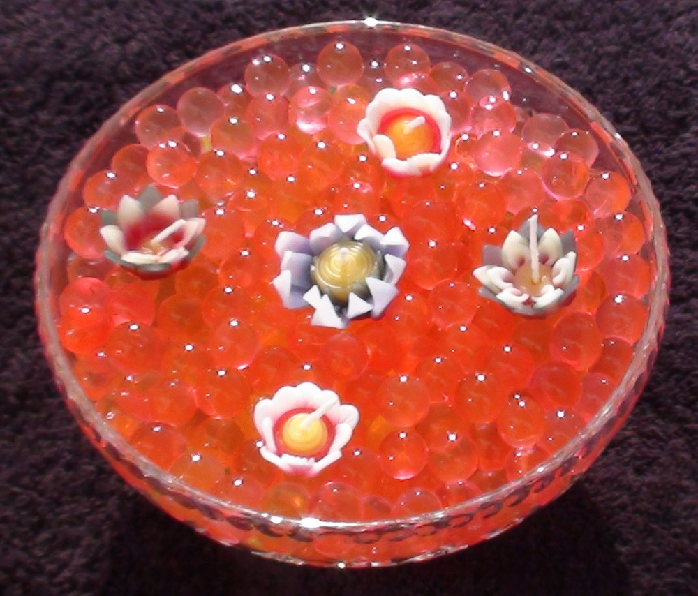 dekoration ideen mit wasser perlen kristallerde produkt id. Black Bedroom Furniture Sets. Home Design Ideas