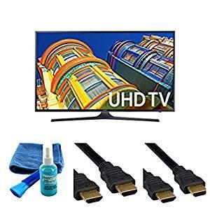 UN65KU6290 65-Inch 6-Series 4K UHD TV (2016 Model) - Starter Bundle