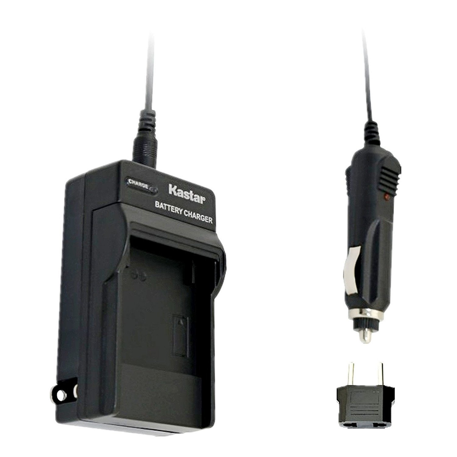 Kastar Travel Charger Kit for NP-BN1, BC-CSN work with Sony Cyber-shot