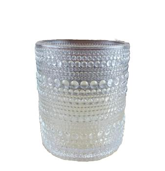 Decorative Glass Candle Holders.Embossed Dots Decorative Glass Candle Holder Buy Embossed Glass Candle Holder Dots Glass Candle Holder Decorative Glass Candle Holder Product On