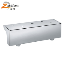 Alibaba Latest Technology Stylish Curved Chrome Leg Sofa With Cabriole Legs