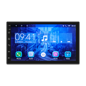 7''car radio android Multimedia Player Quad core WIFI GPS Navigation