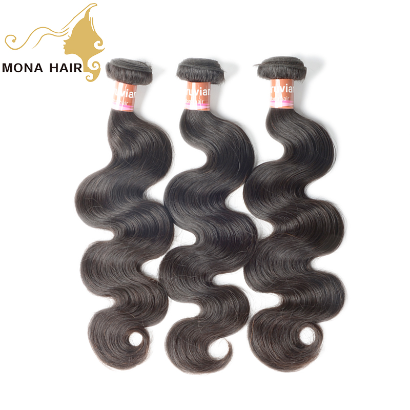 Fast shipping soft virgin human hair body weaves bundles peruvian and brazilian human hair