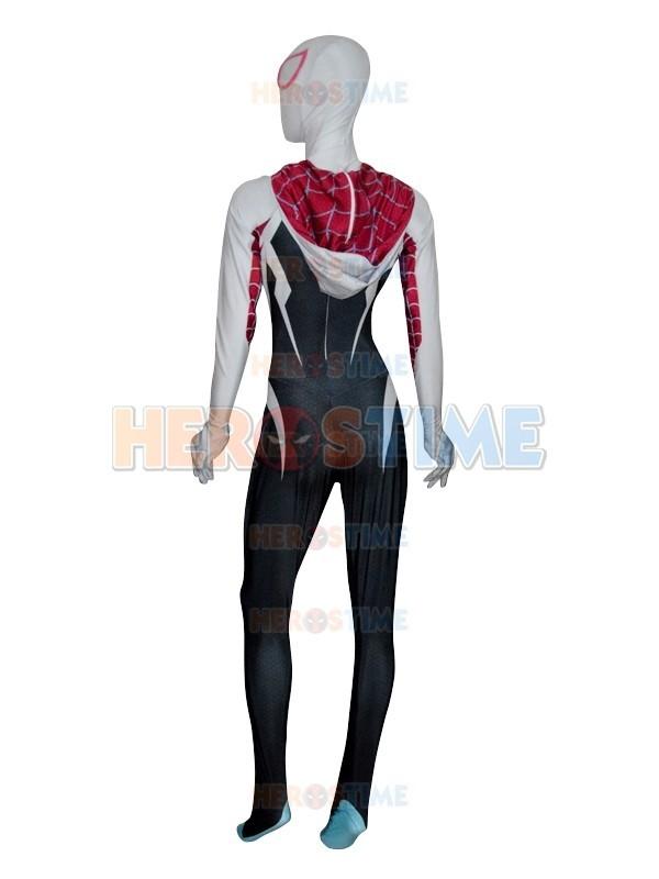 Spider Gwen Stacy Costume Spandex Female Spiderman Costume ...