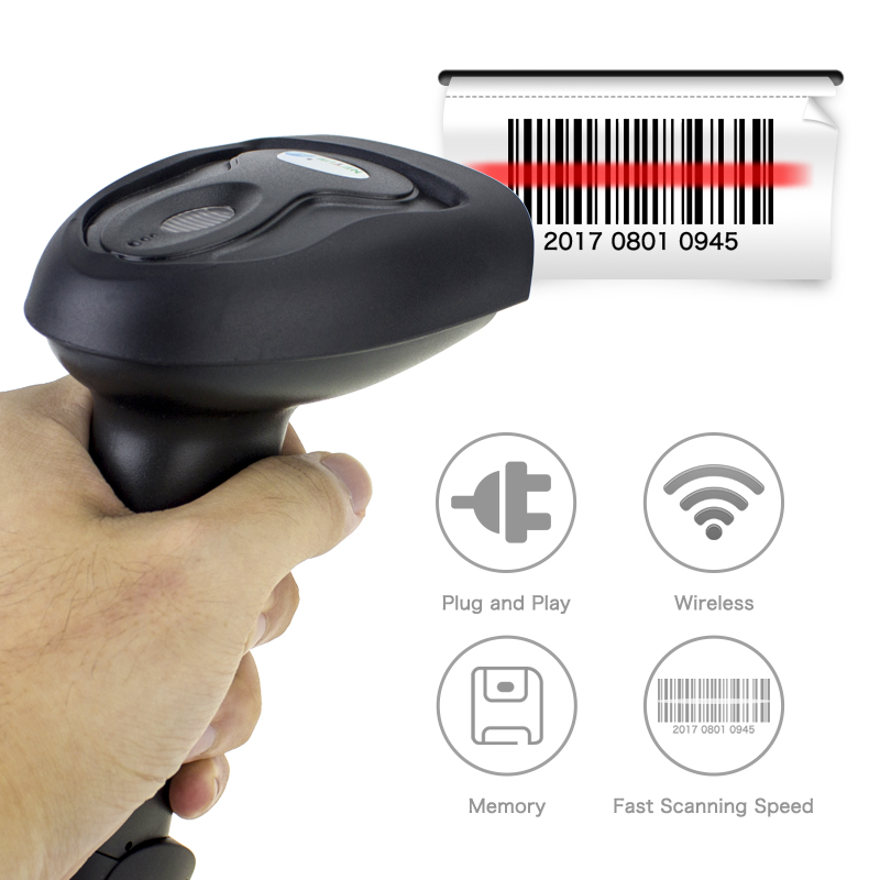 NT-2015 tcp ip 1D  barcode scanner portable barcode scanner reader