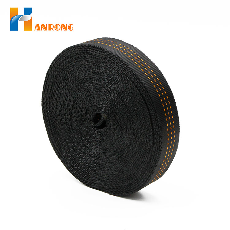 Multi-color Black Belt Polyester Seat Webbing