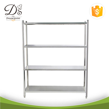 Customized Restaurant Kitchen Stainless Steel Shelves 4 Tiers - Buy ...