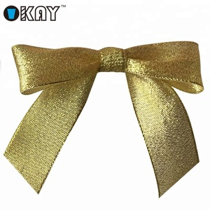 Wholesale Metallic Gold Self Adhesive Bows At Favor