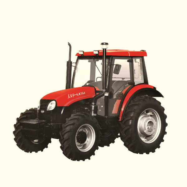 YTO-X704 70hp 4x4 tractors with pto are in korea