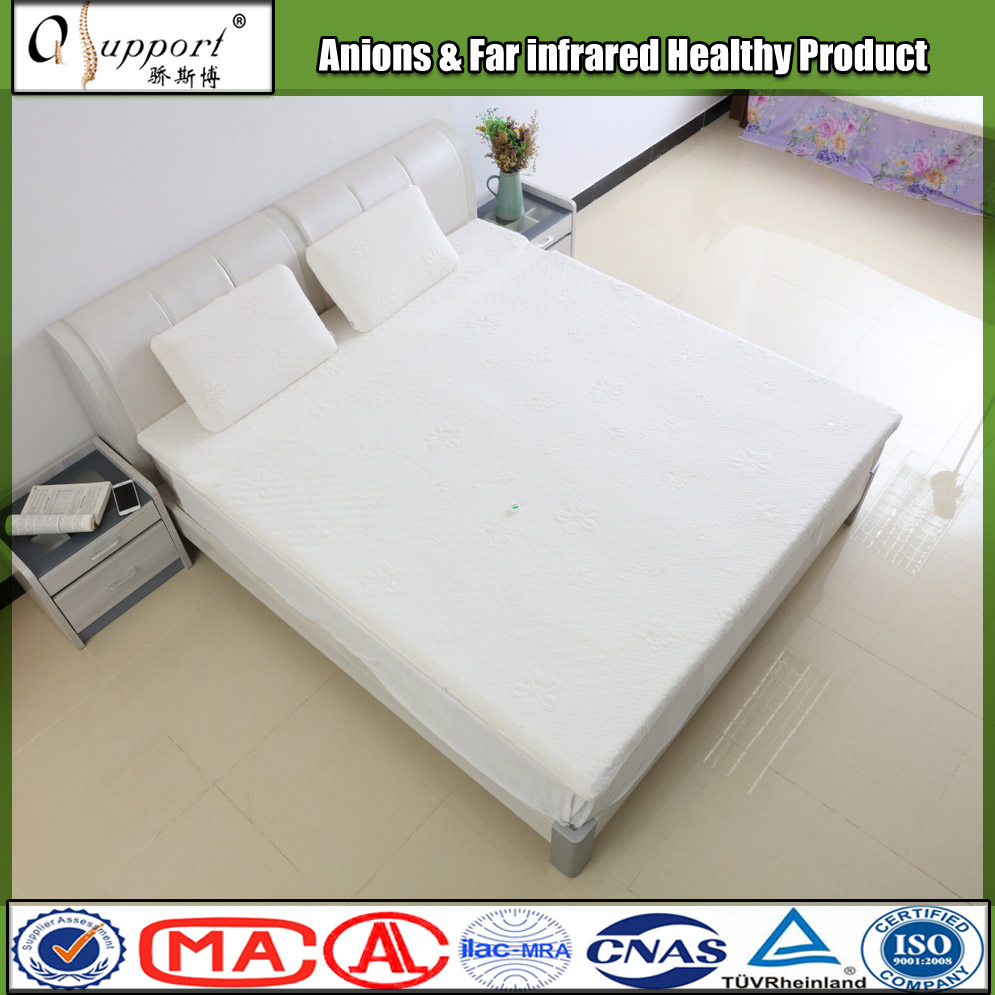 2017 new fashionable mattress topper made with natural latex 180*200*6.5 cm