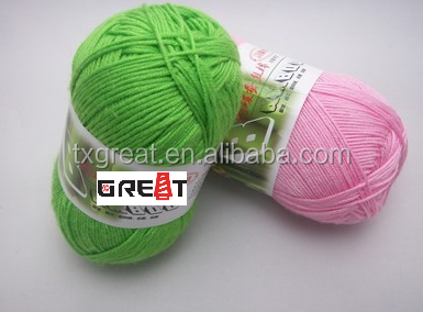 2015 Modern Super Soft Needle Brand Milk Combed Cotton Silk Yarn Price
