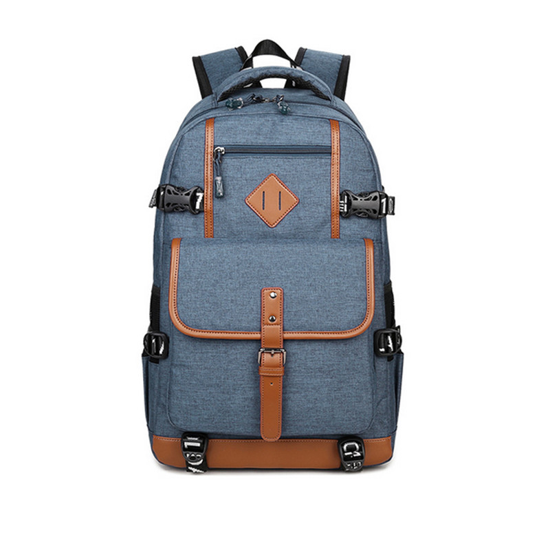 Ecoparty School Bag for Teenagers Computer Mochilas Daily Backpacks Fashion Oxford Backpack Men Casual Dayback Backpack