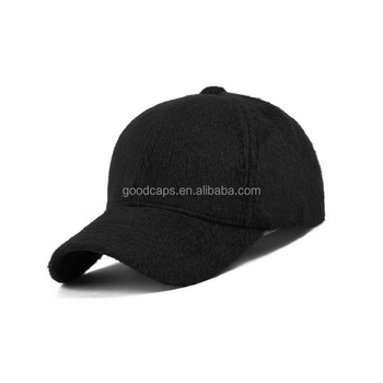 velvet baseball caps and hats winter customized blank 6 panel hat sports  caps 0aed49738df