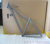 mountain bike with normal dropouts and bending tube custom mtb bike frame with sanding blast finished 29''bicycle frame
