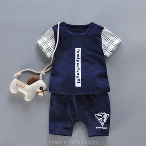 custom high quality cheap cotton baby clothes outfit chinese clothing manufacturers wholesale children's boutique clothing