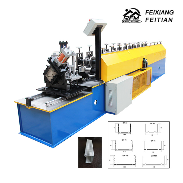 Dry Wall Framing System Stud Track Furring Metal Bead Corner Angle Steel Roll Forming Machine