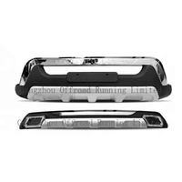Car accessories front and rear bumper 2016 Fortuner car bumpers New