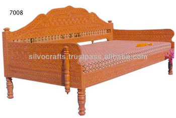 Amazing Royal Indian Rajasthani Jodhpur Hand Carved Teak Wooden Sofa Diwan Sets Chaise Lounge Carved Furnitures By Classic Silvocraft Buy Carved Sofa Ncnpc Chair Design For Home Ncnpcorg