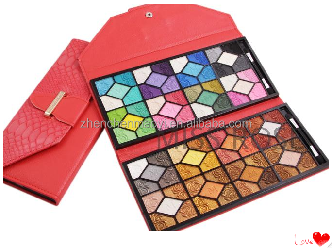 2015 professional own Plastic makeup foundation palette/manly cosmetics eyeshadow