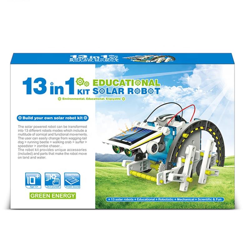 Juguete 13 in 1 Education Diy Stem Toy Educativo Solar Robot For Kid