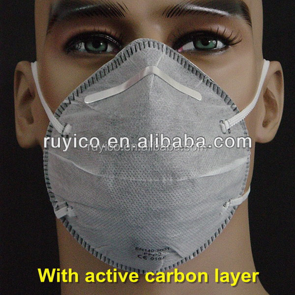 Disposable Ffp Dust Mask With Activated Carbon Filter