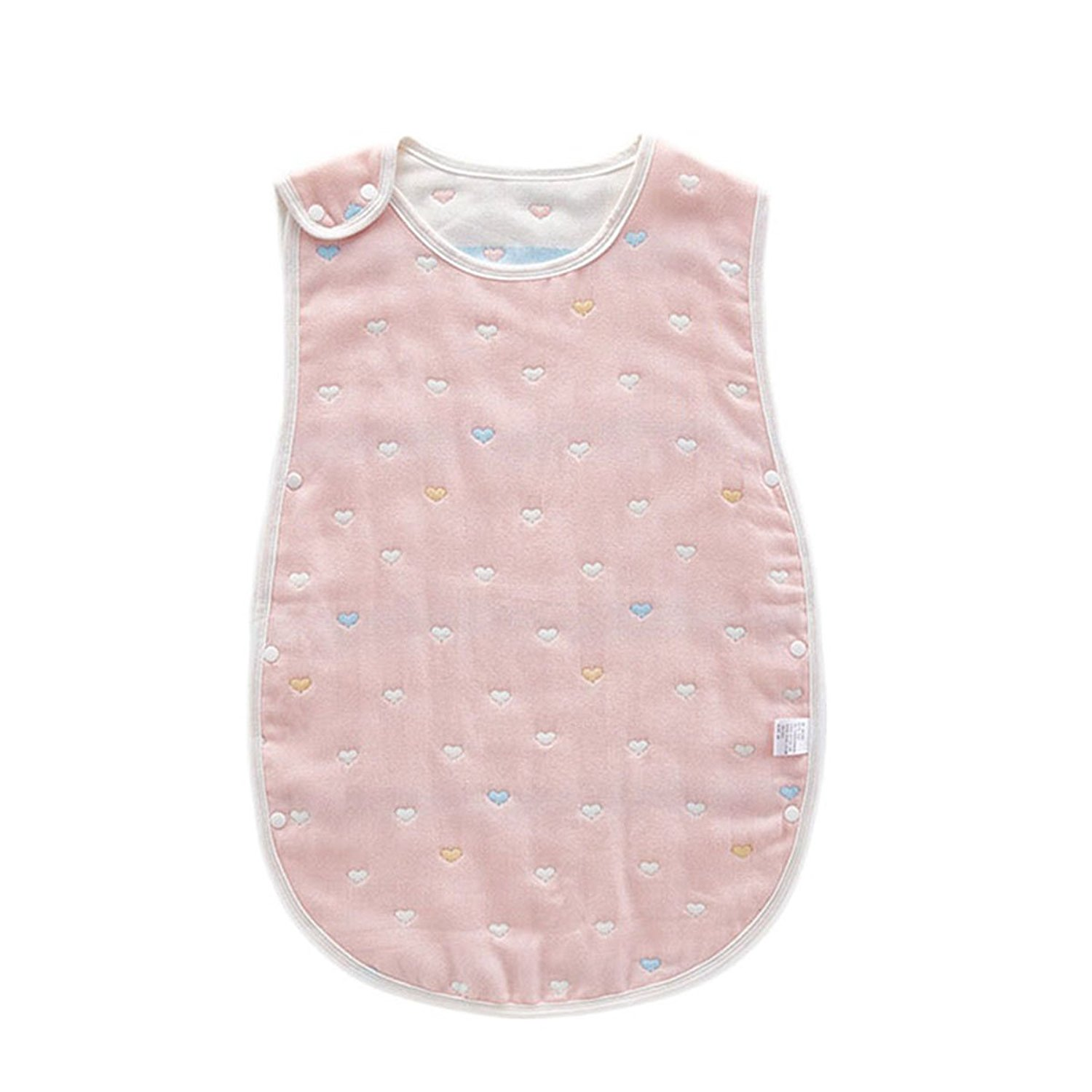 7687f91545a Get Quotations · Cytsj Comfortable Cute Baby Gauze Sleeping Bag