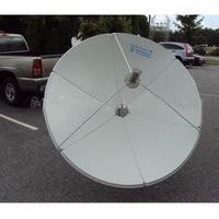 C Band 240cm (8 feet) Prime focus antenna /satellite dish- 6 Panels,