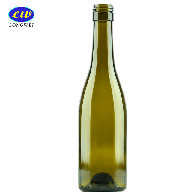 Clear High Quality Glass 750ml Wine Bottle for Alcohol with Corks