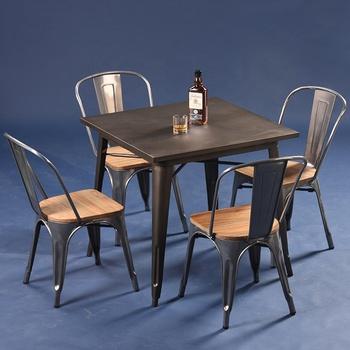 mesa sillas industrial
